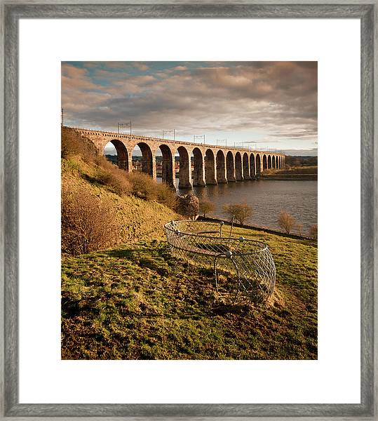 Royal Border Bridge, Berwick-upon-tweed Framed Print