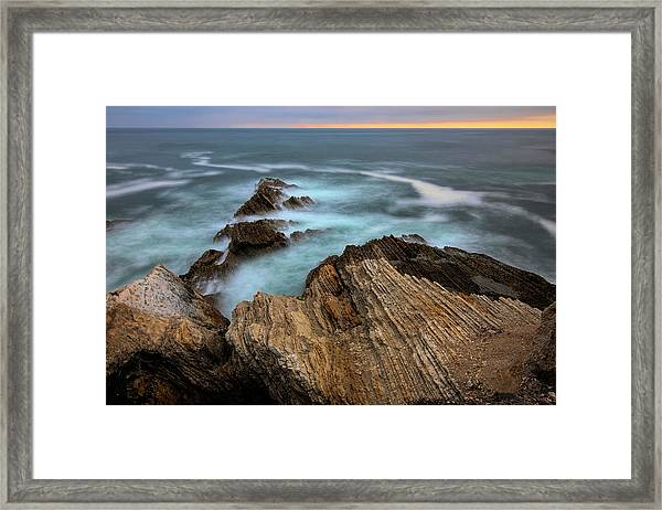 Rugged Beauty  Framed Print