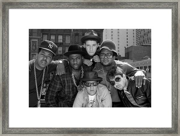Run-dmc & Beastie Boys Framed Print
