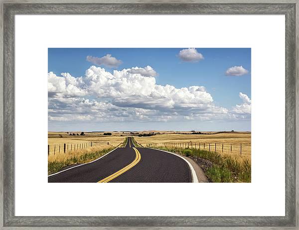 Rural Highway Framed Print