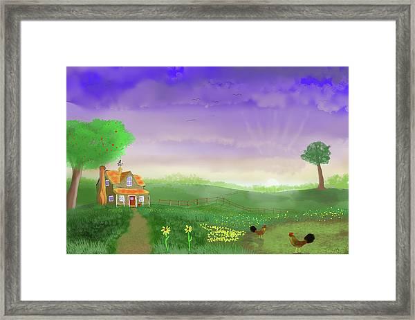 Rural Wonder Framed Print