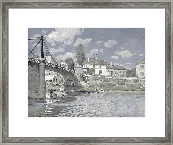 Rustic 11 Sisley Framed Print