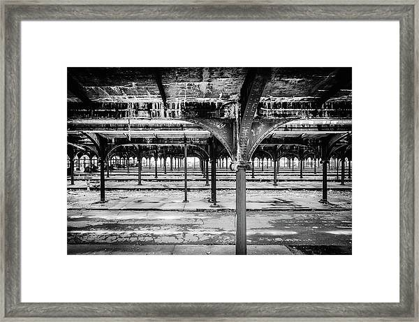 Framed Print featuring the photograph Rusty Crusty Crunchy by Steve Stanger