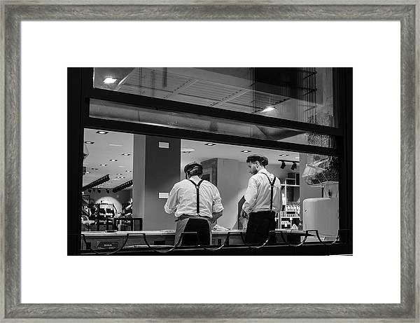 Sabor A Malaga Workers Framed Print
