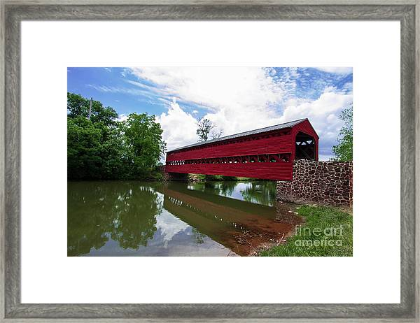 Sachs Bridge Framed Print