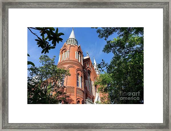 Sacred Heart Cultural Center- Augusta Ga 1 Framed Print