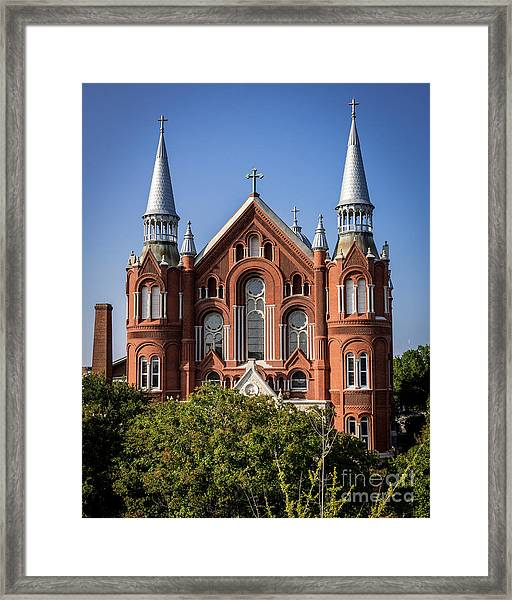 Sacred Heart Cultural Center - Augusta Ga Framed Print