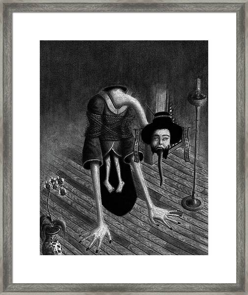 Sacrificed Concubine Ghost - Artwork Framed Print