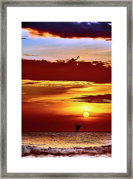 Sail Away... Framed Print
