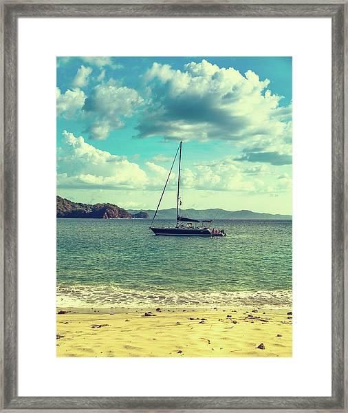 Sailboat Framed Print