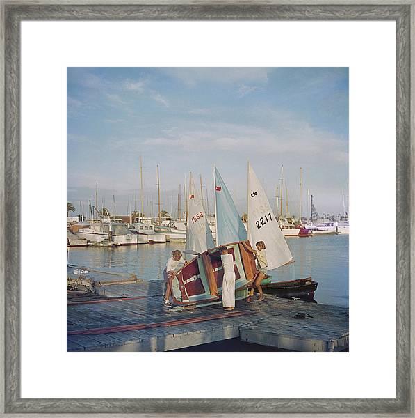 Sailing Dinghy Framed Print