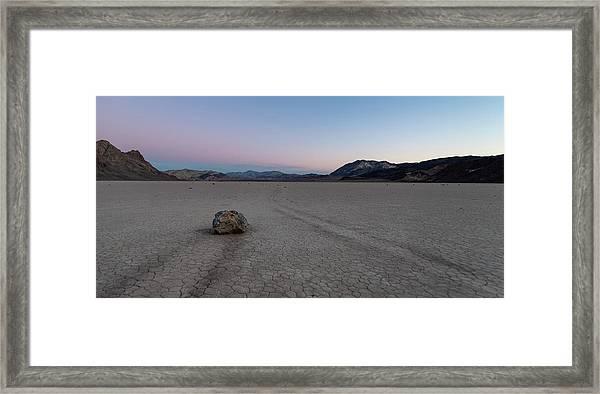 Sailing Stone Morning I Framed Print