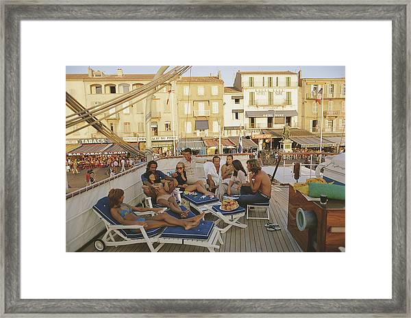 Saint-tropez Framed Print