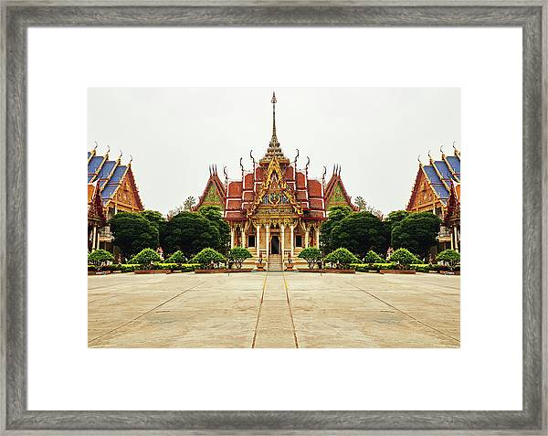 Sak Yant  Framed Print