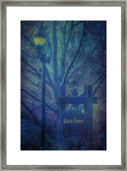 Salem Massachusetts  Witch House Framed Print