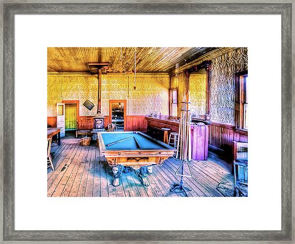 Saloon Framed Print