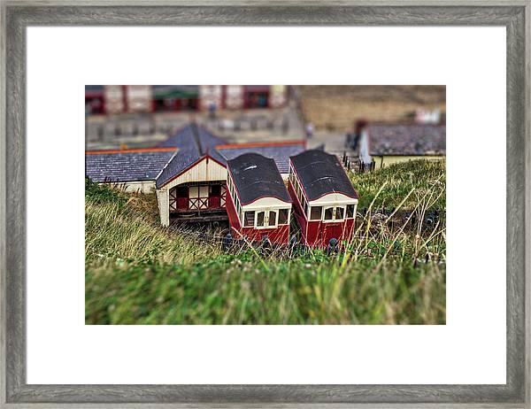 Saltburn Tramway Framed Print