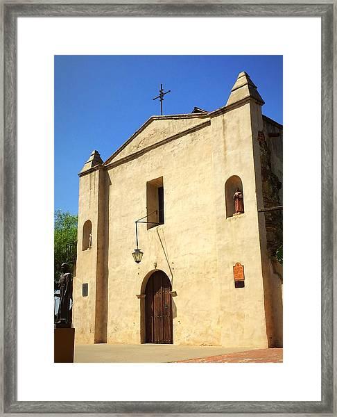 San Gabriel Mission No. 1 Framed Print