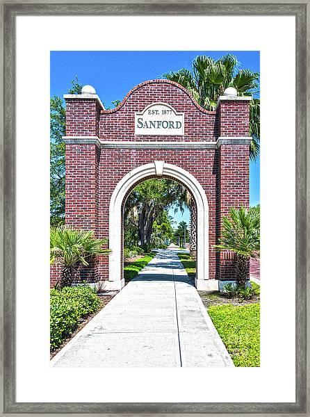 Sanford Arch-8010 Framed Print