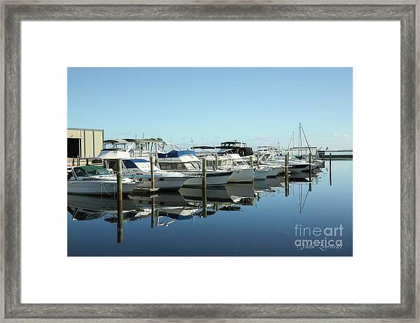 Sanford-marina-1602 Framed Print