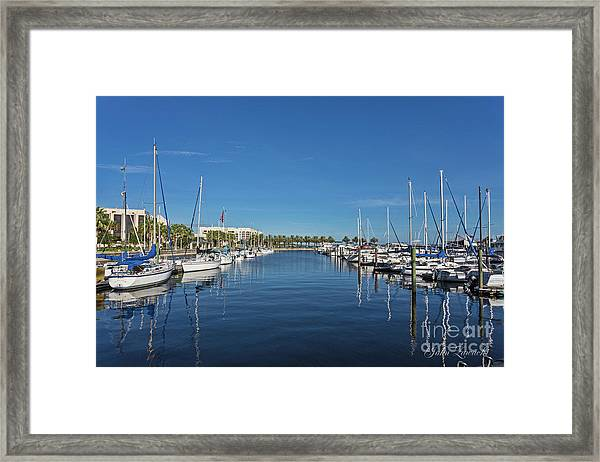 Sanford-marina-6692 Framed Print