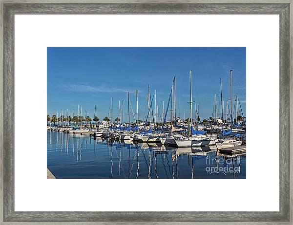 Sanford-marina-6698 Framed Print