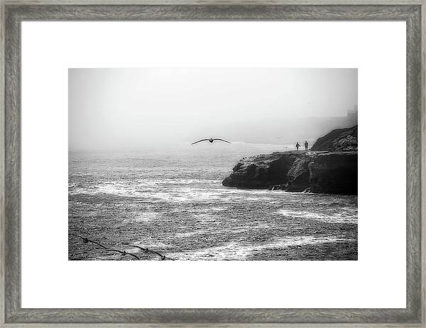 Santa Cruz Coast Framed Print