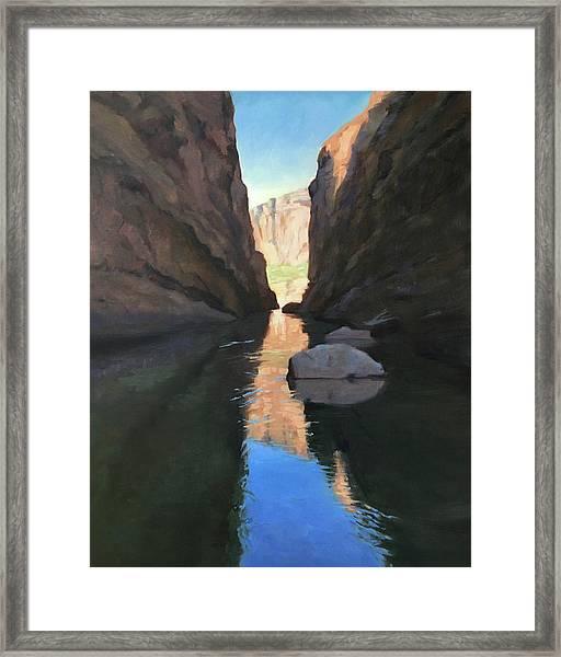 Santa Elena Canyon, Big Bend Framed Print