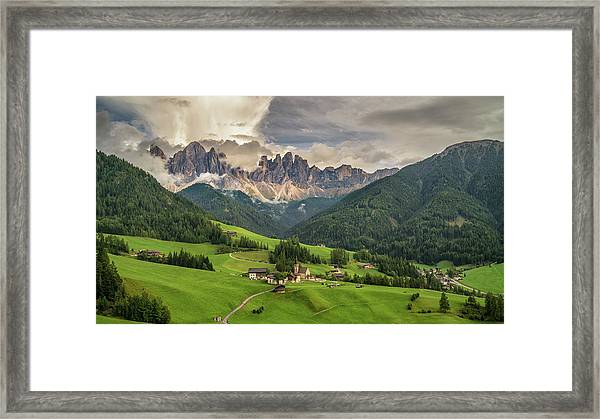 Santa Maddalena Framed Print