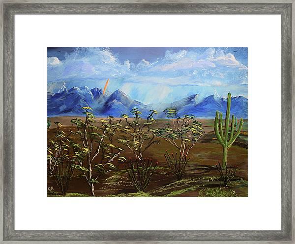 Santa Rita Glory Framed Print