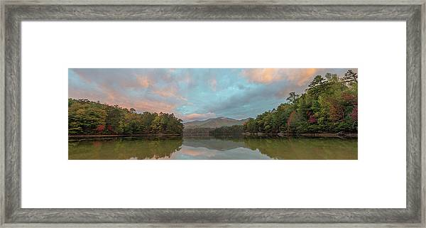 Santeetlah Lake Framed Print