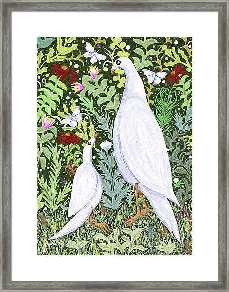 Sapientes Pacis Birds Framed Print