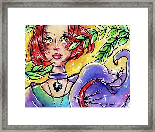 Sarahfina Sun Framed Print