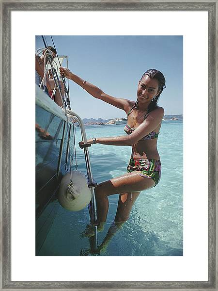 Sardinian Holiday Framed Print