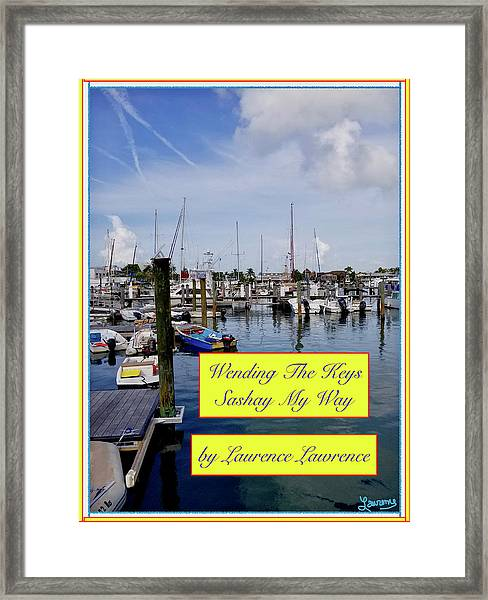Sashay My Way Bn Framed Print