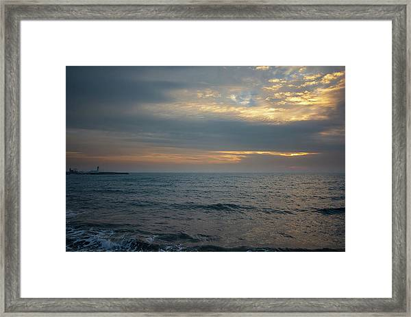 Scarborough Dawn Framed Print