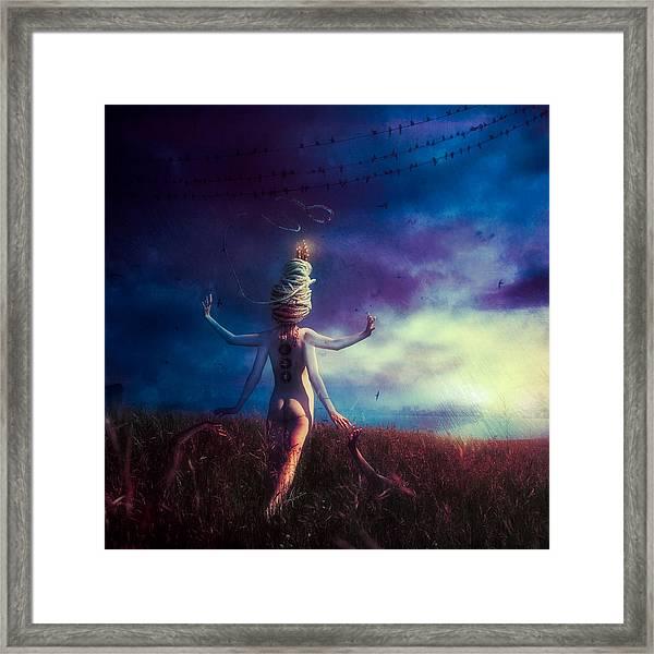 Scarecrow Framed Print
