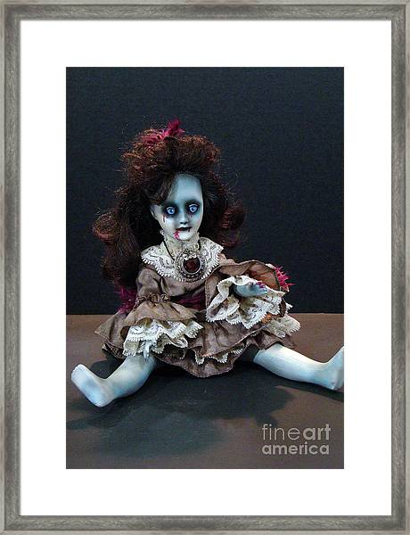Scary Mary Framed Print