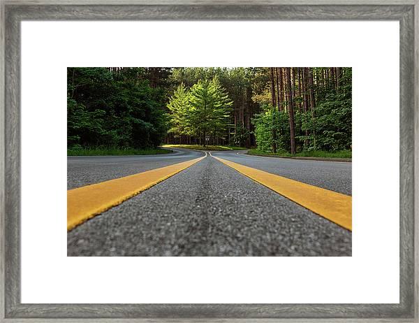 Scenic Drive 2 Framed Print
