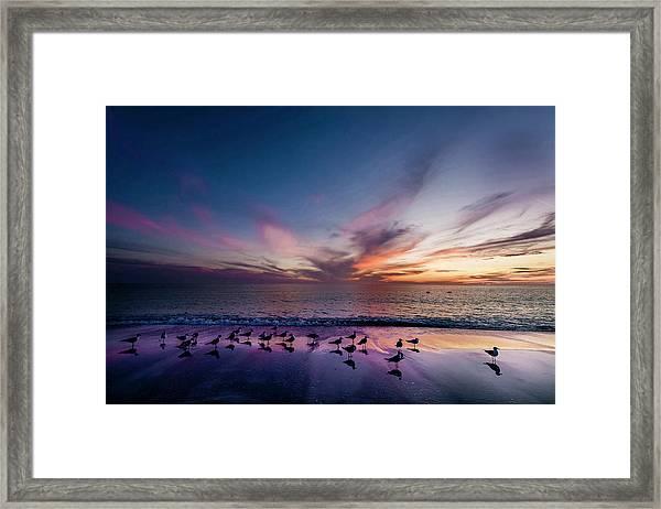 Scenic Sunset, Anna Marie Island Framed Print
