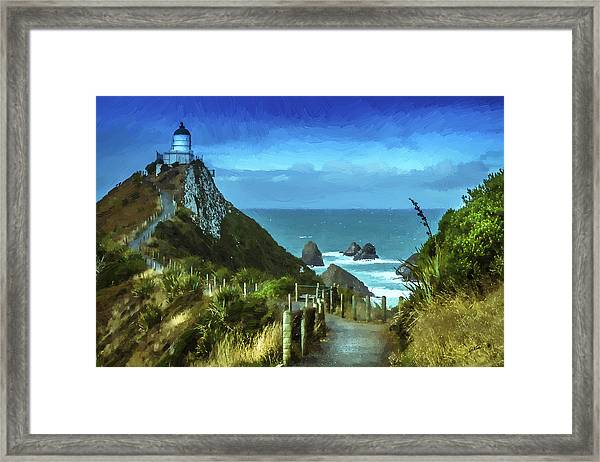 Scenic View Dwp75367530 Framed Print