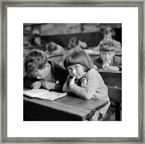 Schooldays Framed Print