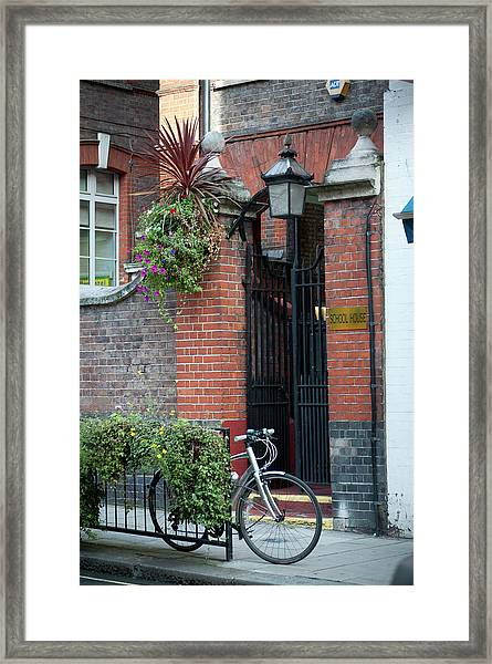 Schoolhouse On Drury Lane, London Framed Print