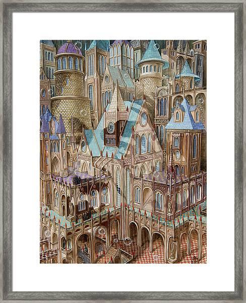 Science City Framed Print