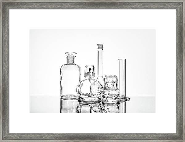 Science Still Life Framed Print