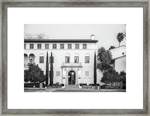 Scripps College Framed Print