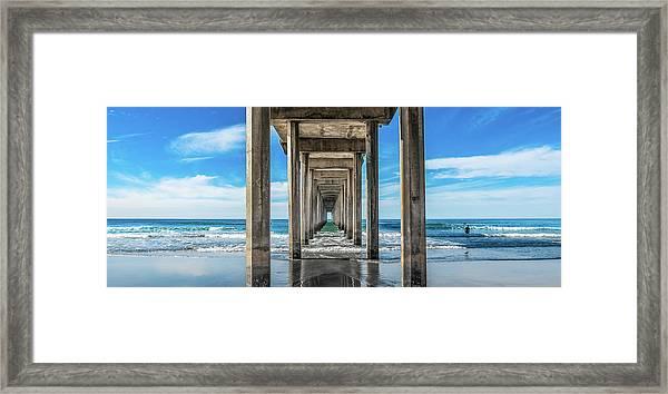 Scripps Pier La Jolla California Framed Print
