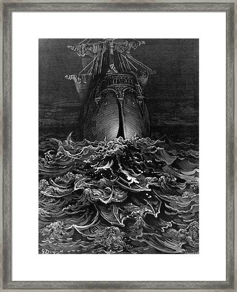 Sea Of Faces Framed Print