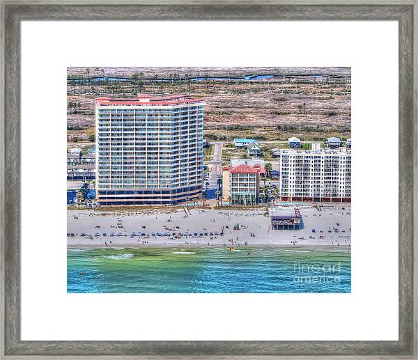 Sea Winds  Sea N Suds Framed Print