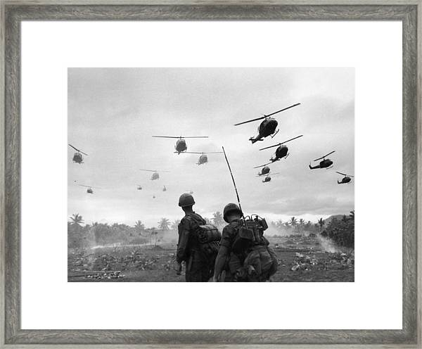 Search And Destroy Framed Print by Patrick Christain